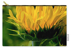 Carry-all Pouch featuring the photograph Sunflower 2017 13 by Buddy Scott