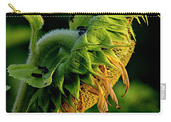 Carry-all Pouch featuring the photograph Sunflower 2017 14 by Buddy Scott