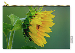 Carry-all Pouch featuring the photograph Sunflower 2017 2 by Buddy Scott