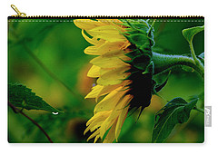 Carry-all Pouch featuring the photograph Sunflower 2017 3 by Buddy Scott