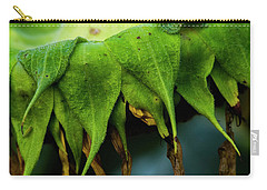 Carry-all Pouch featuring the photograph Sunflower 2017 4 by Buddy Scott
