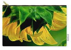 Carry-all Pouch featuring the photograph Sunflower 2017 6 by Buddy Scott