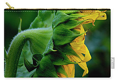 Carry-all Pouch featuring the photograph Sunflower 2017 8 by Buddy Scott