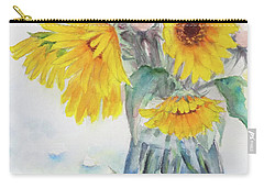 Sunflower-4 Carry-all Pouch