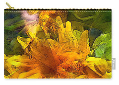 Sunflower 6 Carry-all Pouch by Pamela Cooper