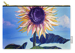 Sunflower Carry-all Pouch by Alban Dizdari