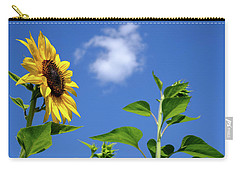 Sunflower And Friend Carry-all Pouch