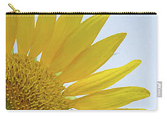 Sunflower Art Right Carry-all Pouch