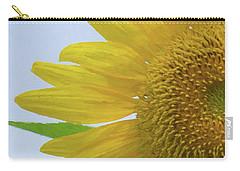 Sunflower Art Left Carry-all Pouch