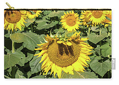 Sunflower Bangs Carry-all Pouch