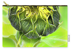 Carry-all Pouch featuring the photograph Sunflower Beauty 666 by Kevin Chippindall