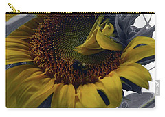 Sunflower Bee Carry-all Pouch