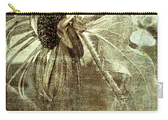 Sunflower Bending Carry-all Pouch by Linda Olsen