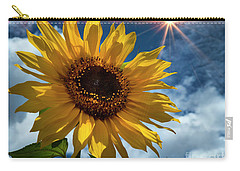 Sunflower Brilliance II Carry-all Pouch
