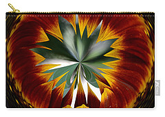 Sunflower Circle Carry-all Pouch