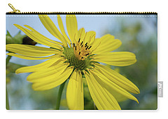 Sunflower Close-up Carry-all Pouch
