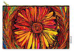 Sunflower Emblem Carry-all Pouch