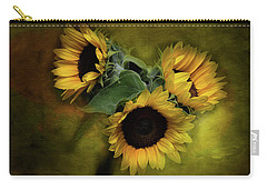 Sunflower Family Carry-all Pouch