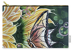 Sunflower Fantasy Carry-all Pouch