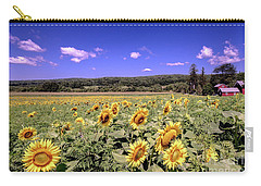 Sunflower Farm Carry-all Pouch