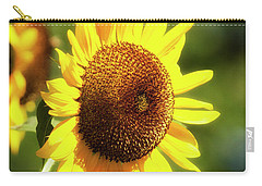 Carry-all Pouch featuring the photograph Sunflower Field by Christina Rollo