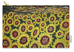 Sunflower Fields  Forever Carry-all Pouch by Jeffrey Koss