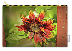 Carry-all Pouch featuring the photograph Sunflower #g5 by Leif Sohlman