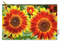 Sunflower Garden Carry-all Pouch
