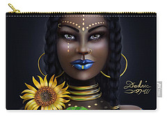 Sunflower Goddess  Carry-all Pouch