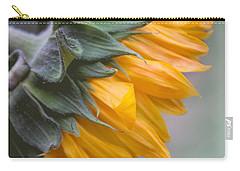 Carry-all Pouch featuring the photograph Sunflower Haze by Arlene Carmel