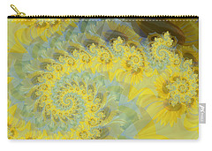 Sunflower Infused Carry-all Pouch