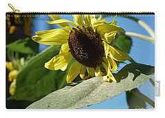 Sunflower, Lemon Queen, With Pollen Carry-all Pouch