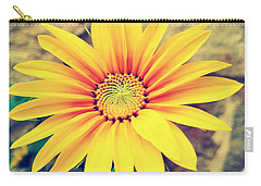 Carry-all Pouch featuring the photograph Sunflower by Lucia Sirna