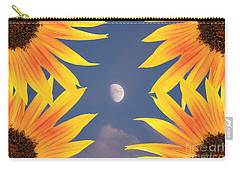 Sunflower Moon Carry-all Pouch by James BO  Insogna