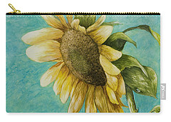 Sunflower Number One Carry-all Pouch