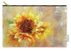 Sunflower On Fire Carry-all Pouch