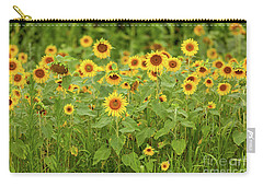 Sunflower Patch Carry-all Pouch