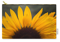 Sunflower Petals Carry-all Pouch by Arlene Carmel