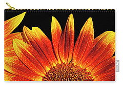 Sunflower Raindrops Carry-all Pouch