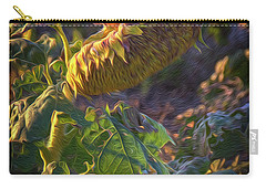 Sunflower Repose Carry-all Pouch