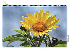 Carry-all Pouch featuring the photograph Sunflower  by Saija Lehtonen