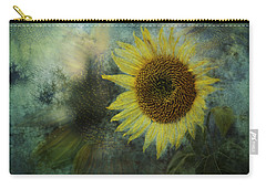 Carry-all Pouch featuring the photograph Sunflower Sea by Belinda Greb