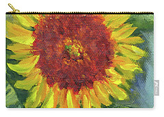 Sunflower Seed Packet Carry-all Pouch