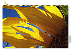 Sunflower Shadows Carry-all Pouch