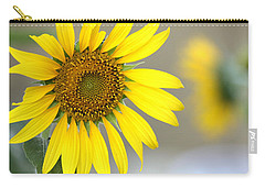 Carry-all Pouch featuring the photograph Sunflower by Sheila Brown