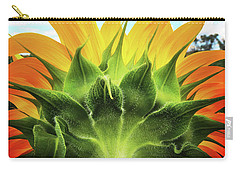 Sunflower Sunburst Carry-all Pouch
