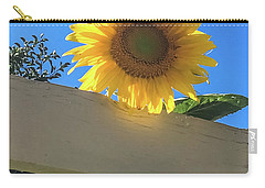 Sunflower Carry-all Pouch by Suzanne Luft