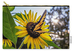 Sunflower Swallowtail Carry-all Pouch