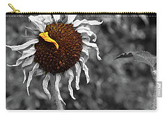 Sunflower- The End Of Summer Carry-all Pouch