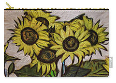 Sunflower Tower Carry-all Pouch